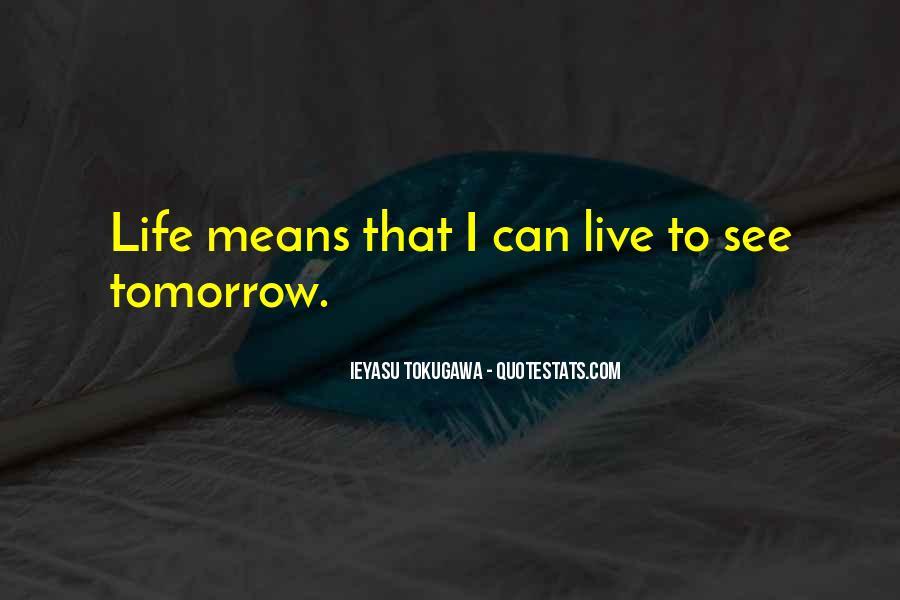Tokugawa Quotes #1326579