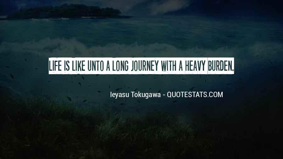 Tokugawa Quotes #169926