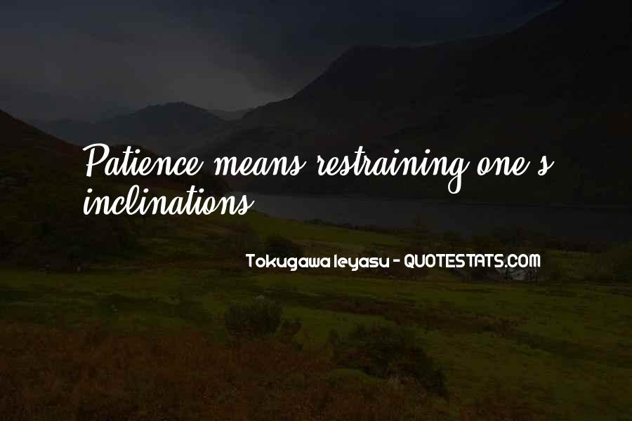 Tokugawa Quotes #79334