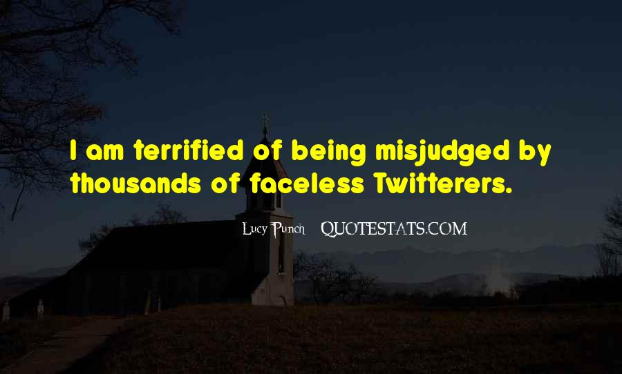 Quotes About Being Misjudged #192229