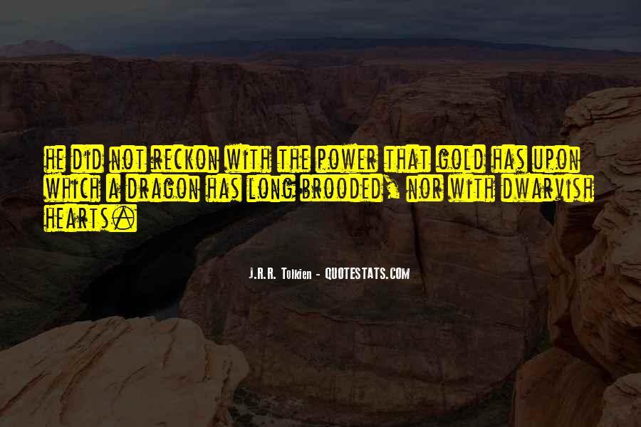 Tolkien Dwarvish Quotes #1852790