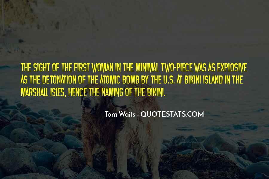 Tom One Piece Quotes #1460929