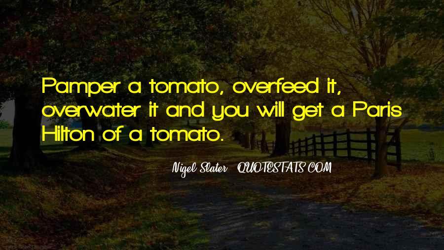 Tomato Quotes #1148087