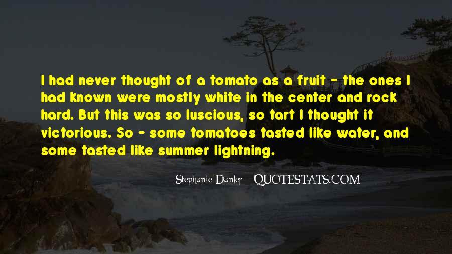 Tomato Quotes #447