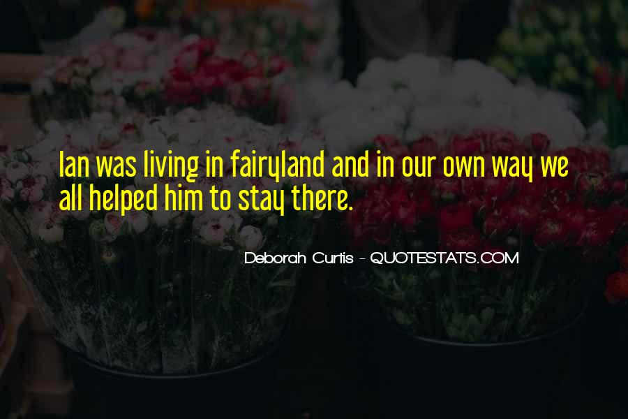 Quotes About Ian Curtis #1373294
