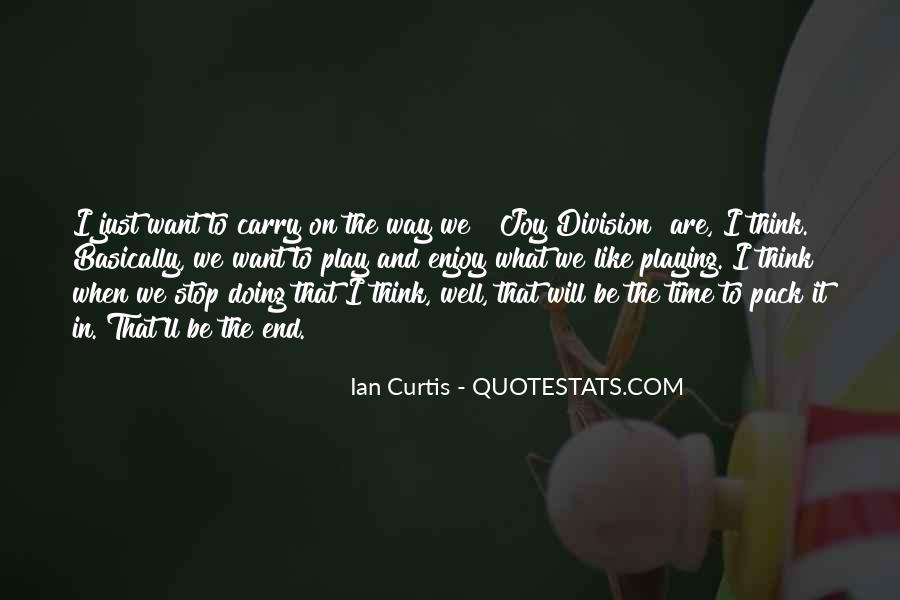 Quotes About Ian Curtis #1527331