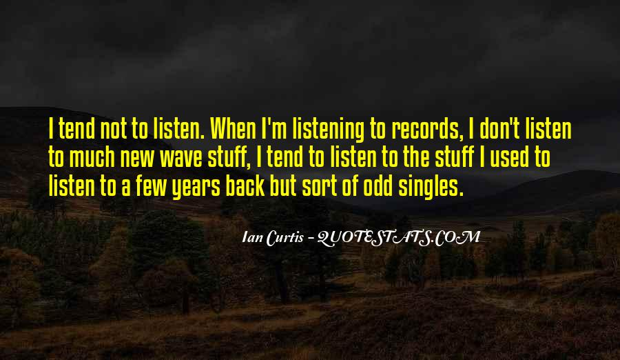 Quotes About Ian Curtis #1720682
