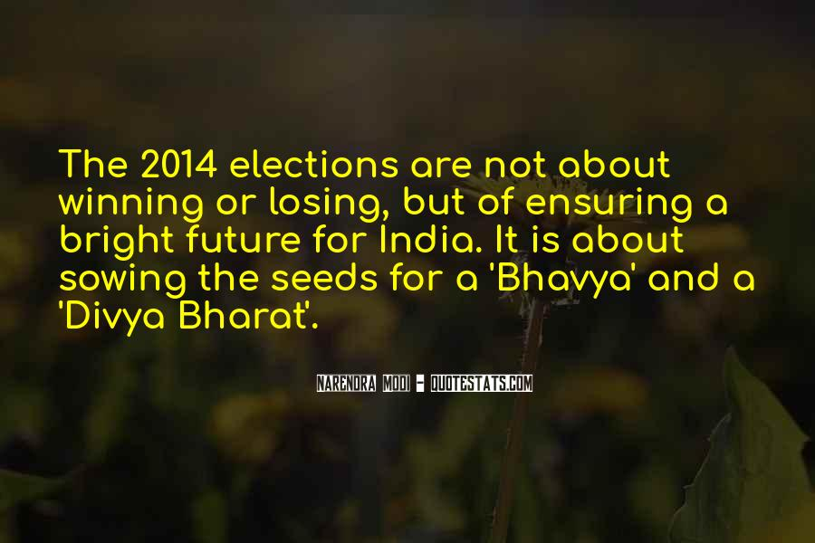 Quotes About Bharat #1631690