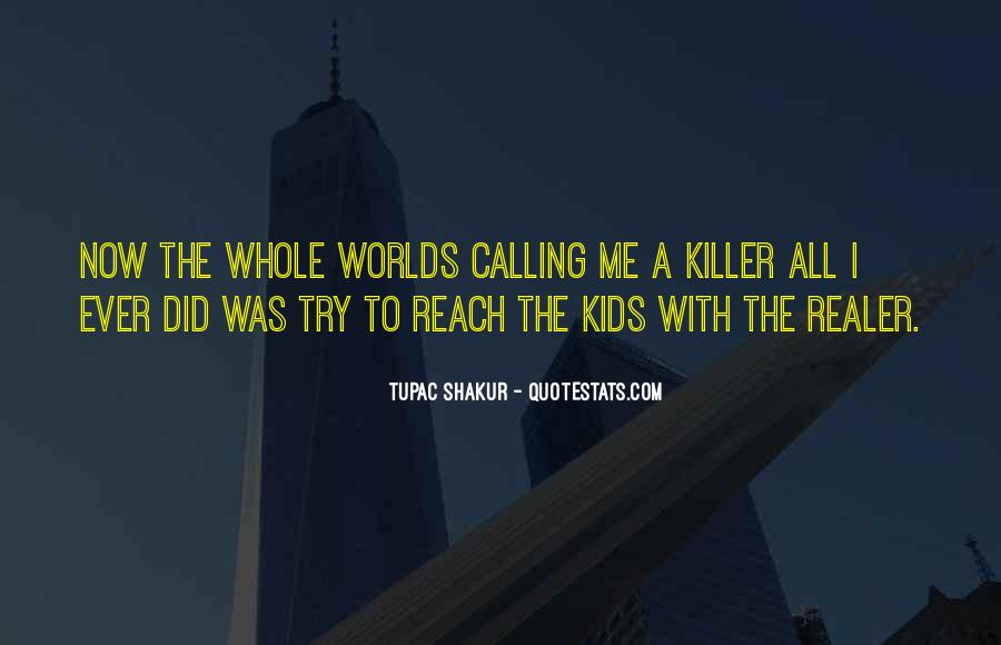 Quotes About Tupac Shakur #117481