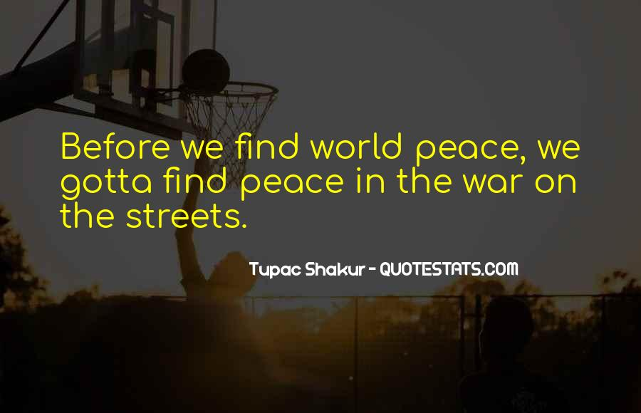 Quotes About Tupac Shakur #362989