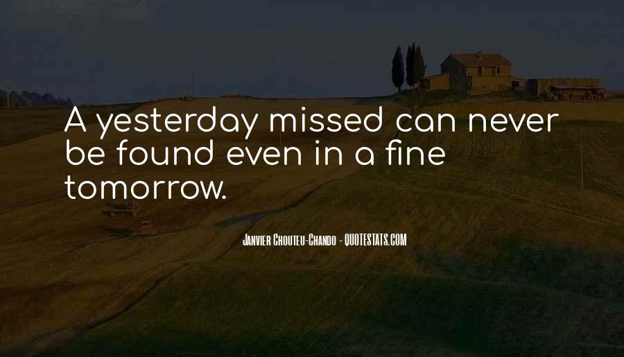 Tomorrow Will Be Fine Quotes #1145581