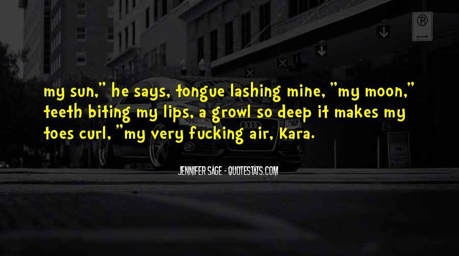 Tongue Lashing Quotes #1055254