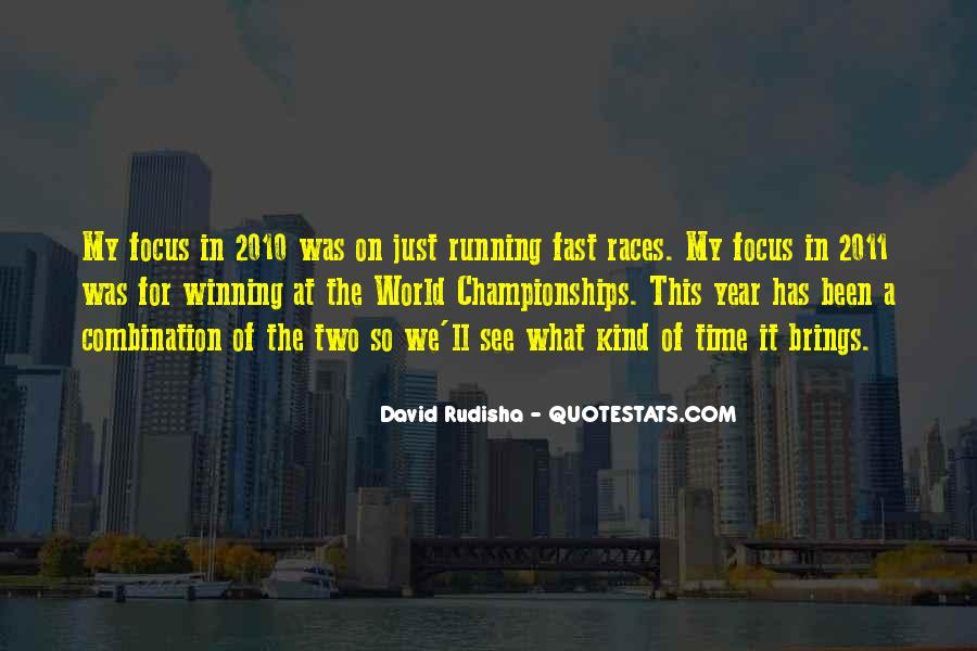 Quotes About Being Fast Running #1005324