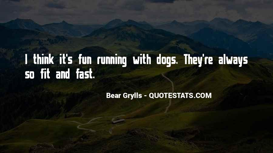 Quotes About Being Fast Running #1005991