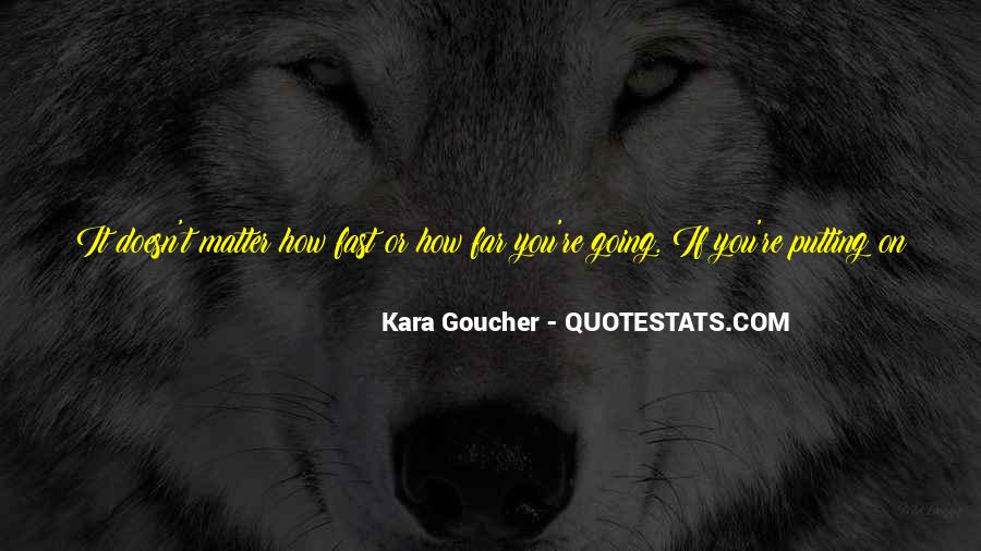 Quotes About Being Fast Running #114044