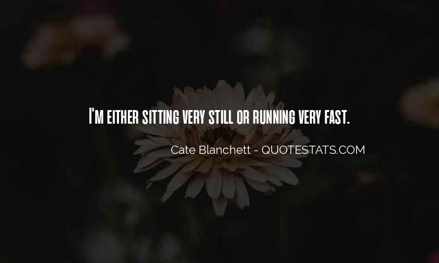 Quotes About Being Fast Running #121673