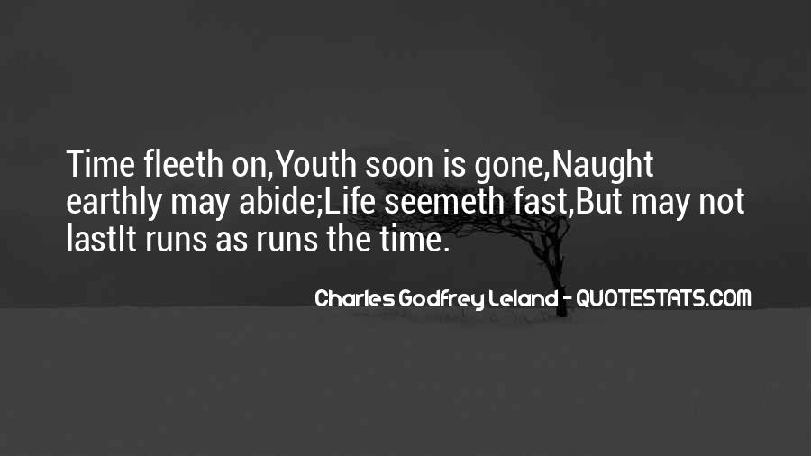 Quotes About Being Fast Running #185375