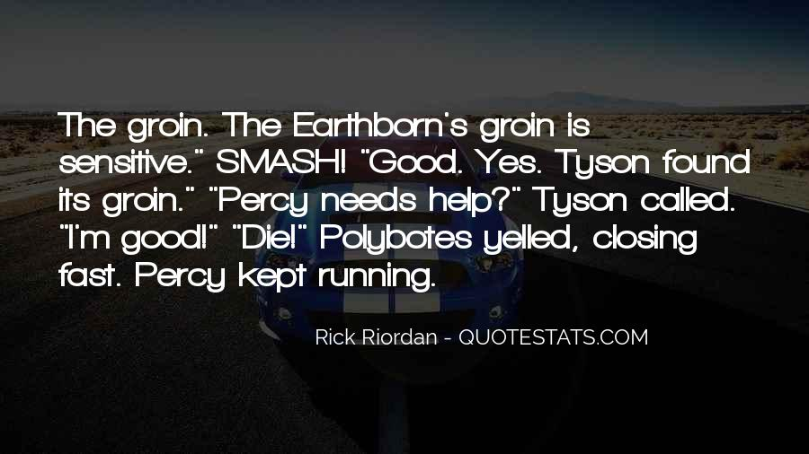 Quotes About Being Fast Running #265377