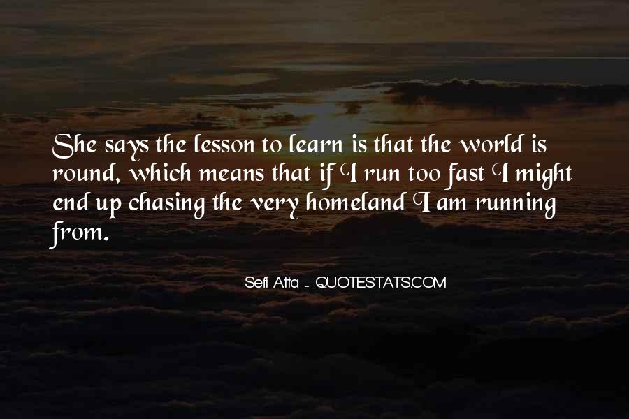 Quotes About Being Fast Running #274067