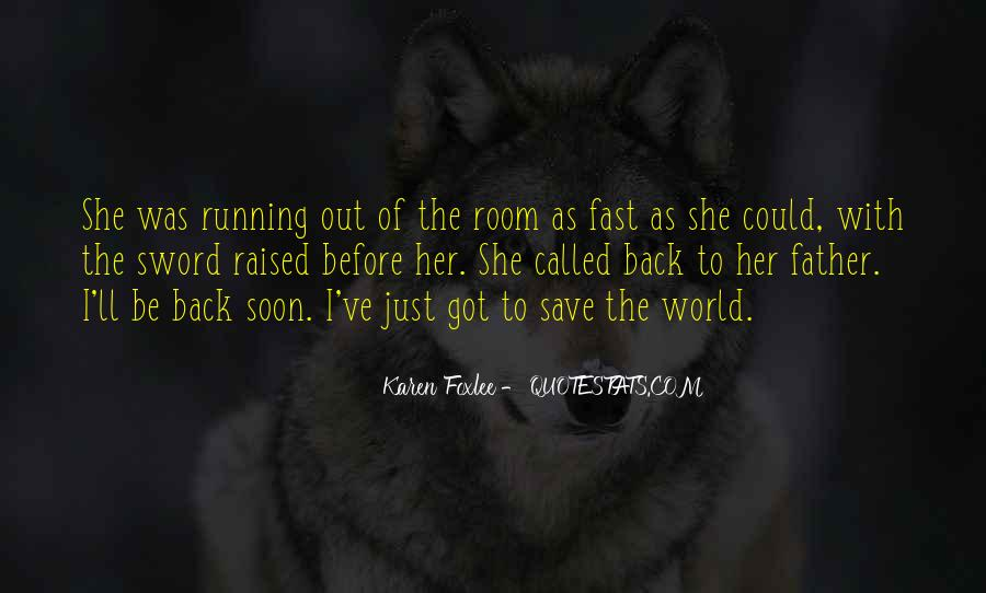 Quotes About Being Fast Running #351094