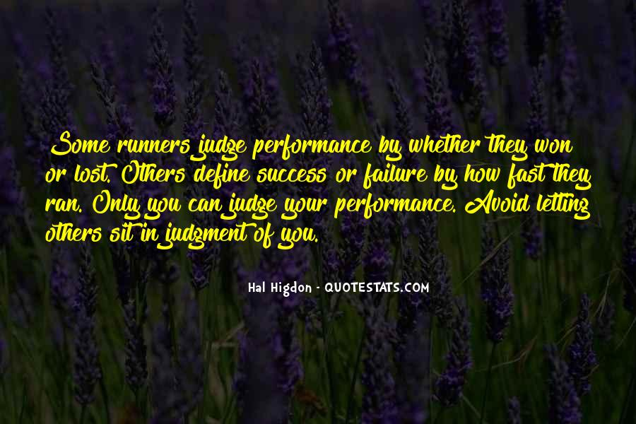 Quotes About Being Fast Running #367564