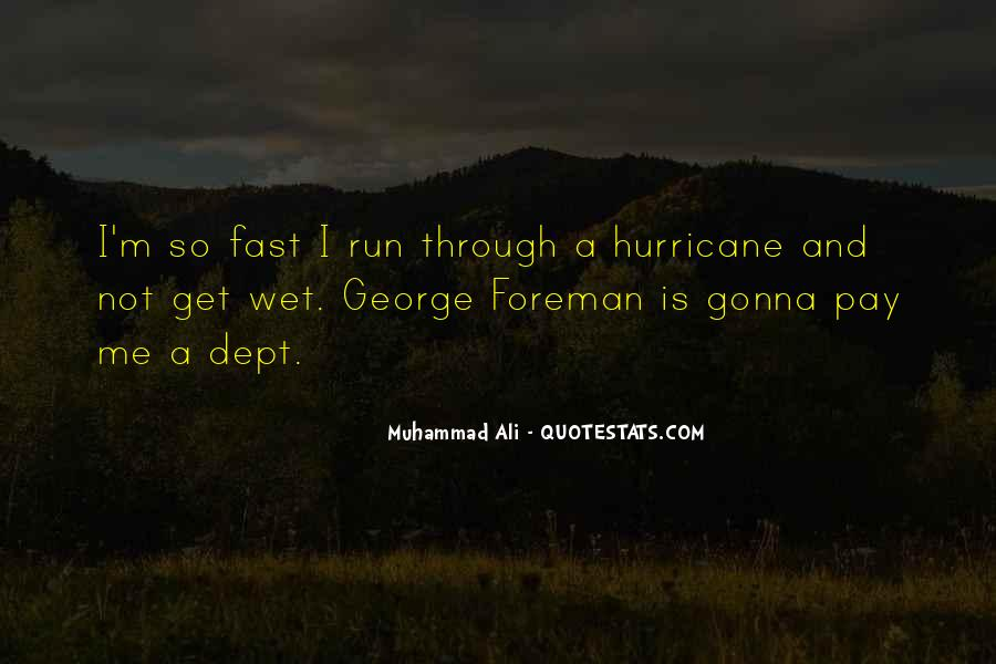 Quotes About Being Fast Running #381050