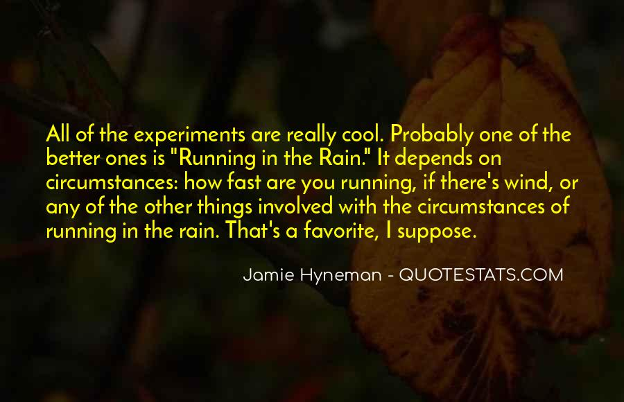 Quotes About Being Fast Running #393074