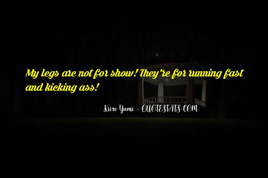 Quotes About Being Fast Running #805834