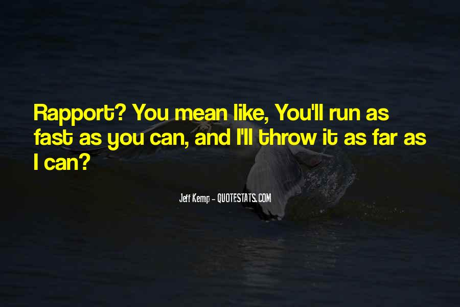 Quotes About Being Fast Running #883630