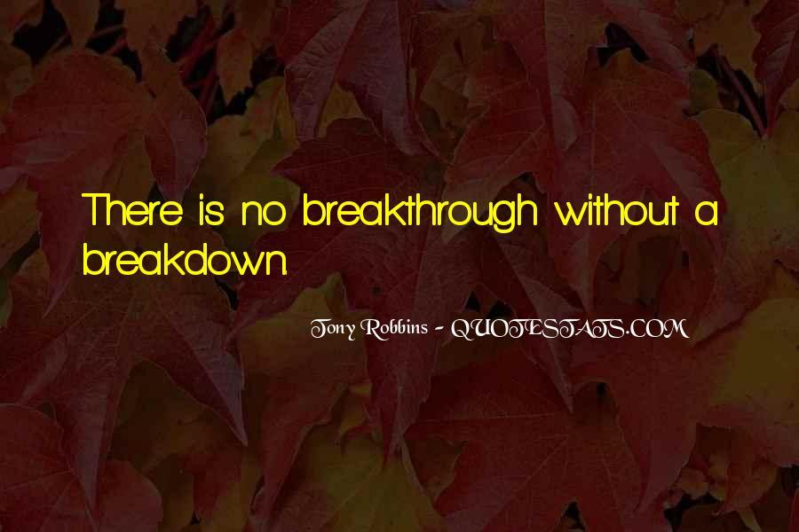 Tony Robbins Breakthrough Quotes #1750141