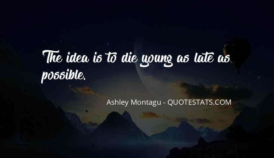 Too Late To Die Young Quotes #1852583