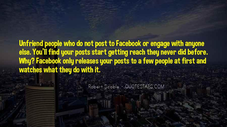 Too Many Facebook Posts Quotes #773620