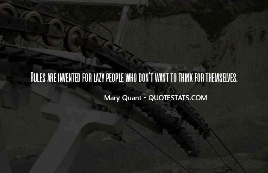 Quotes About Mary Quant #1323236