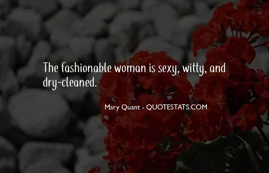 Quotes About Mary Quant #132732