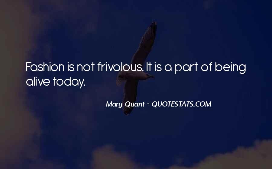 Quotes About Mary Quant #1530844
