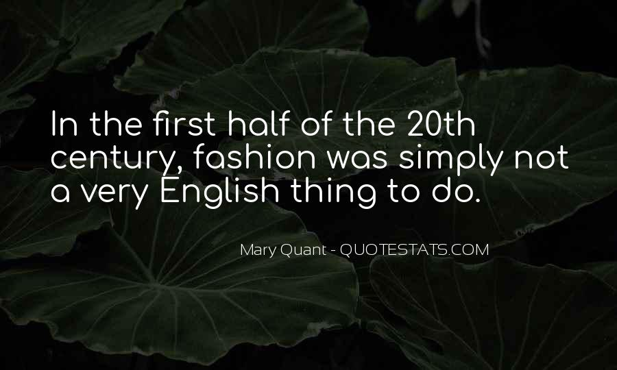 Quotes About Mary Quant #488994
