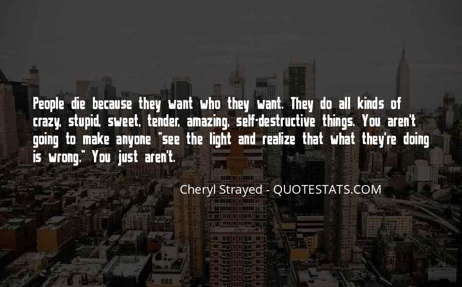 Too Stupid To Realize Quotes #729649