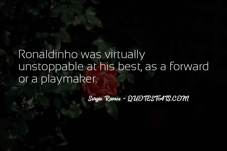 Quotes About Ronaldinho #754085