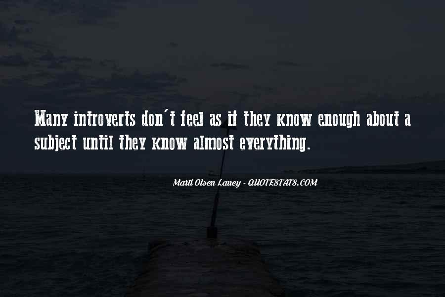 Top 100 Introvert Quotes #167290