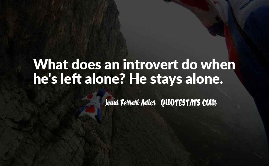 Top 100 Introvert Quotes #773752