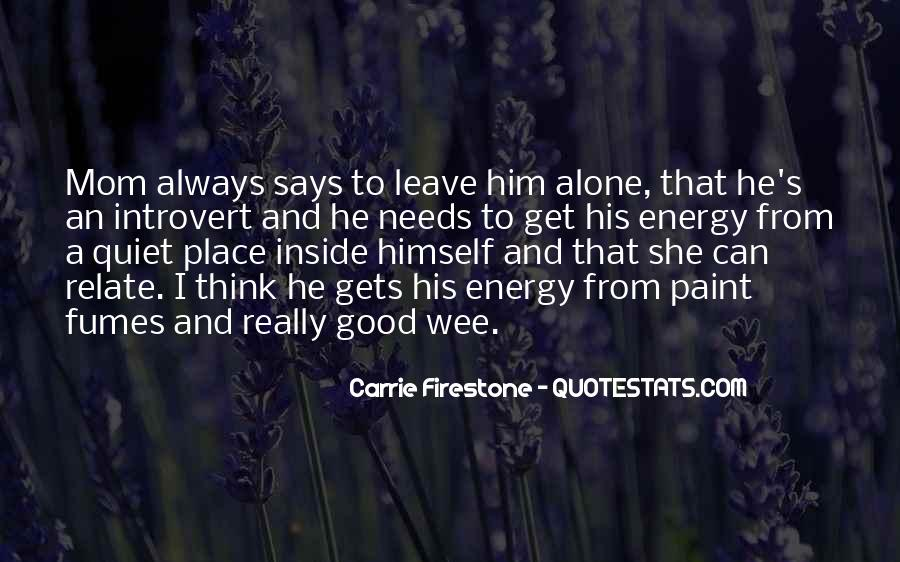 Top 100 Introvert Quotes #837140