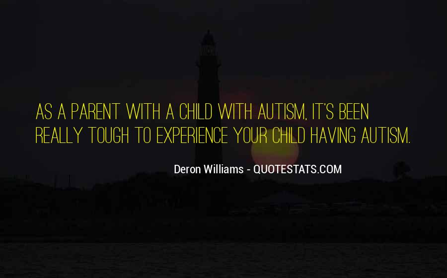 Quotes About Autism Child #12526