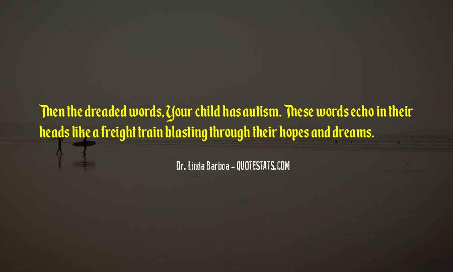 Quotes About Autism Child #758848