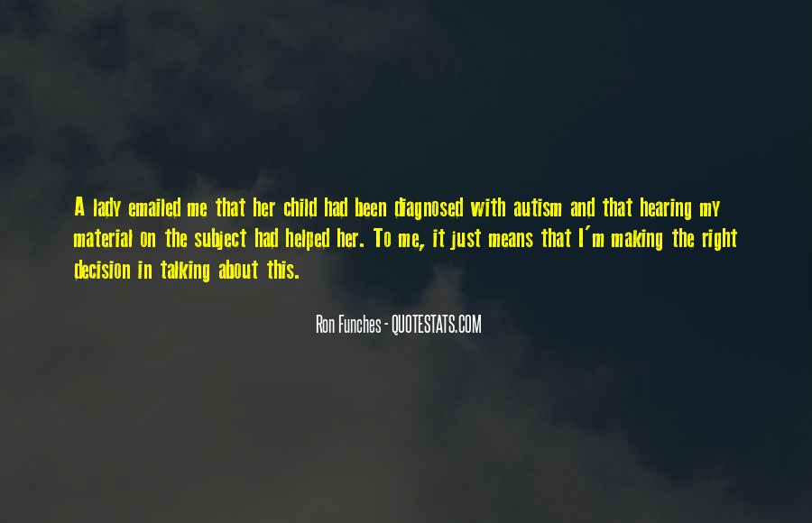 Quotes About Autism Child #947958