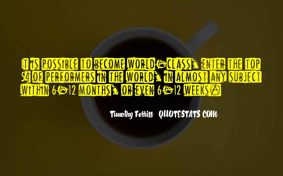 Top In The Class Quotes #1116862