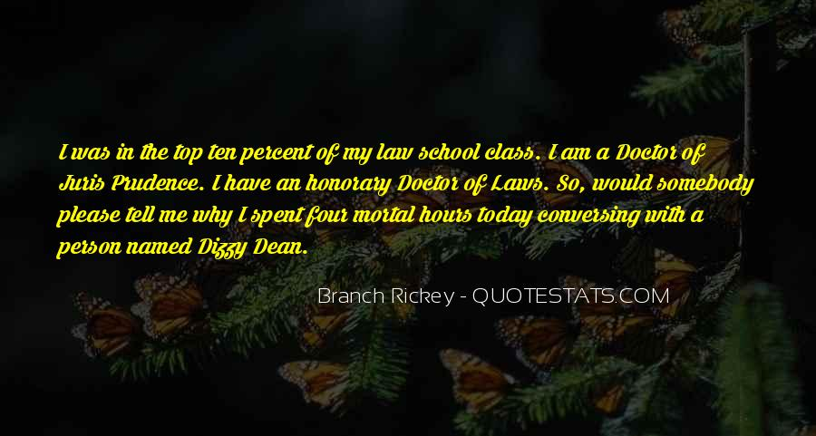 Top In The Class Quotes #415624