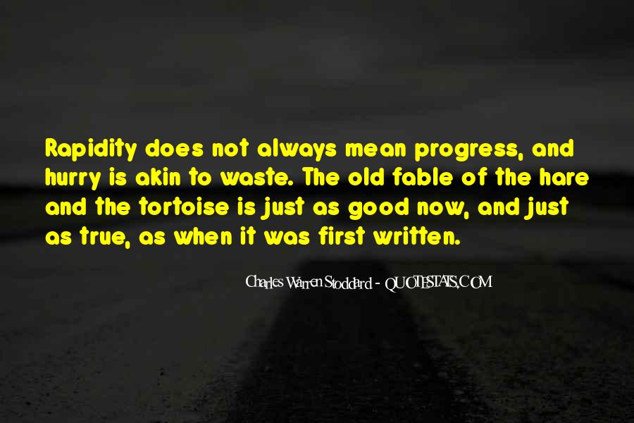 Tortoise Hare Quotes #1655353