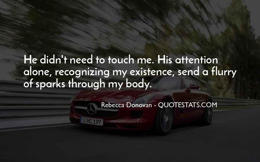 Touch My Body Quotes #1164335