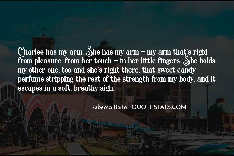 Touch My Body Quotes #1258549