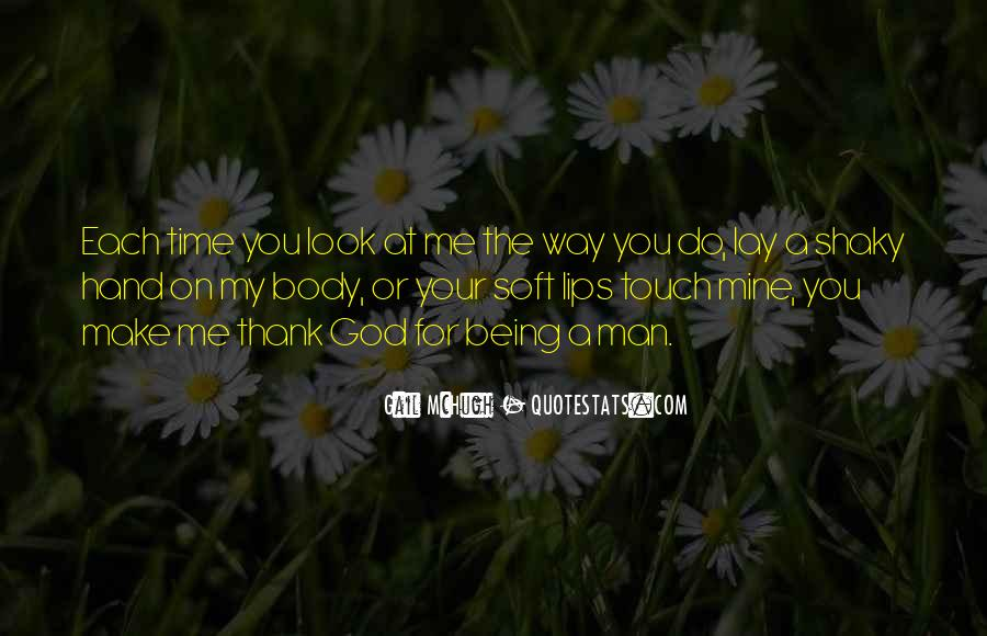 Touch My Body Quotes #73782